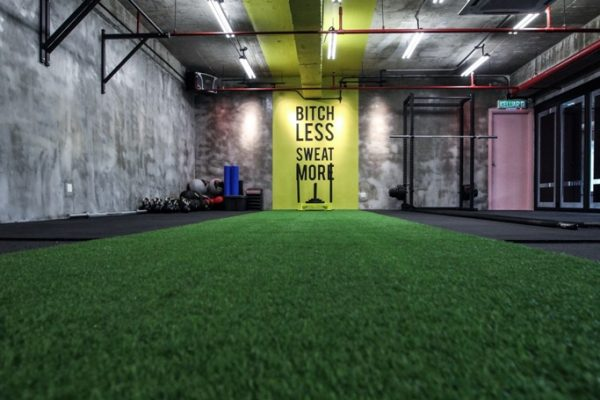 Functional training area