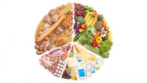 A healthy & balanced diet