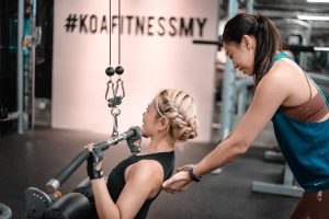 Personal trainers are always there to help you with your fitness journey.