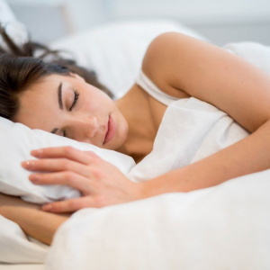 Sleeping for seven to nine hours a night is crucial to recovery.