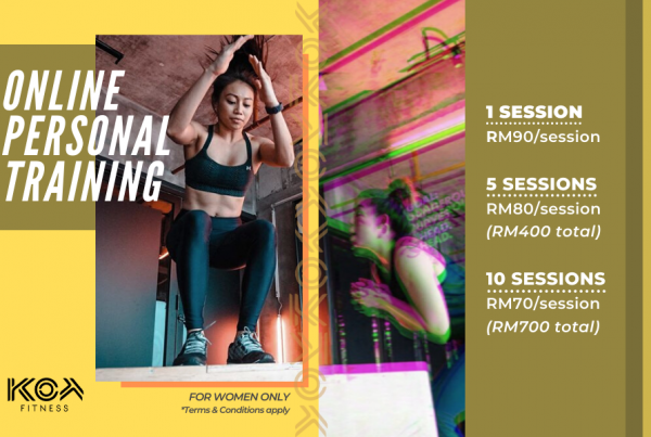 Online Personal Training by KOA Fitness