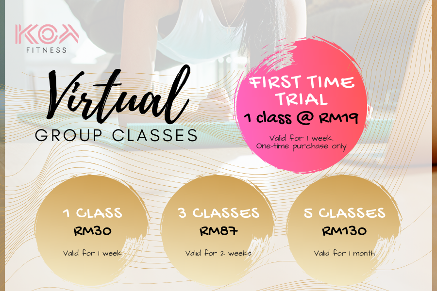 Virtual Group Classes by KOA Fitness