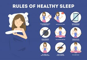 Ways to sleep well